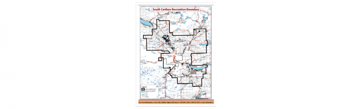 South Cariboo Recreation: Taxation Boundaries